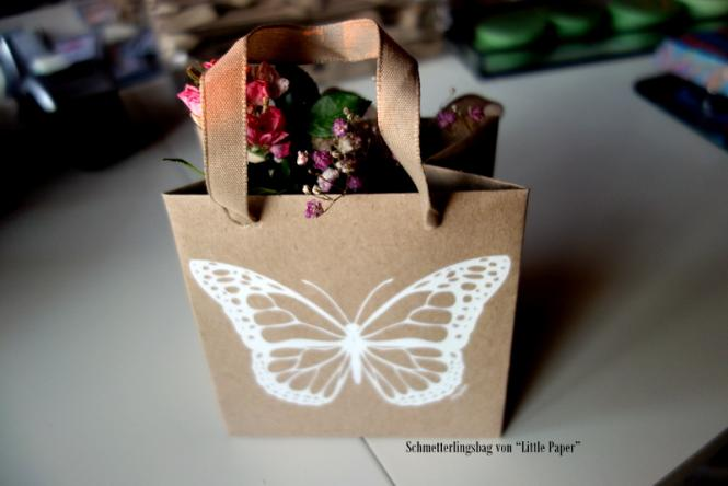 SCHMETTERLING-BAG weiß